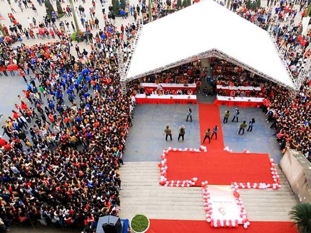 SVĐ Mỹ Đình là nơi diễn ra lễ hội Xuân Hồng