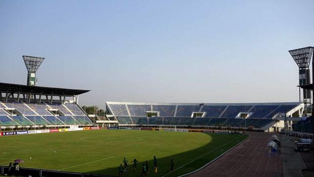 Toàn cảnh sân vận động Thuwunna của Myanmar
